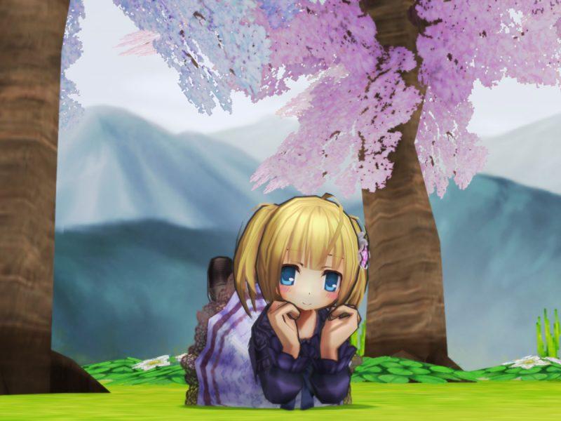 おでかけワンピース(紫)2