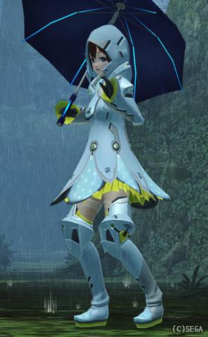 アクエリアコート空と雨傘1